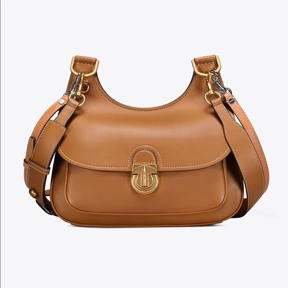 c588a91224df Tory Burch JAMES SMALL SADDLEBAG